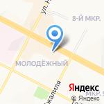 Ювелия на карте Нижневартовска