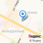 Запсибкомбанк на карте Нижневартовска