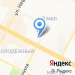 Мегапласт на карте Нижневартовска
