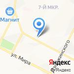 Нижневартовский медицинский диагностический центр на карте Нижневартовска