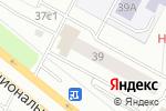 Схема проезда до компании Юни-Дент в Нижневартовске