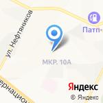 Кикбоксинг на карте Нижневартовска