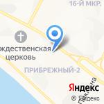 Мир Текстиля на карте Нижневартовска
