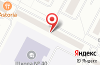 Схема проезда до компании Авангард в Нижневартовске