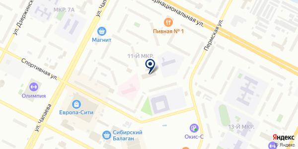 ГОРОДСКОЙ ОТДЕЛ МИЛИЦИИ N 3 (ГОМ) на карте Нижневартовске