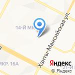 Старый мастер на карте Нижневартовска