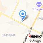 ЭСТЕТ на карте Нижневартовска