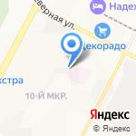Выбирай на карте Нижневартовска