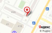 Схема проезда до компании Ранг в Нижневартовске
