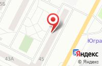 Схема проезда до компании Биоком - Югра в Нижневартовске