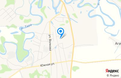 Местоположение на карте пункта техосмотра по адресу Новосибирская обл, с Кыштовка, ул Целинная, д 31