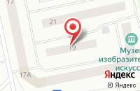 Схема проезда до компании Ямал-Инфо в Новом Уренгое