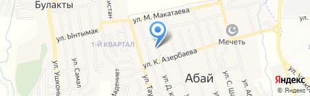 Магазин строительных материалов на карте Иргелей