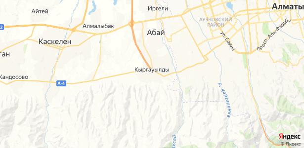 Кыргаулды на карте