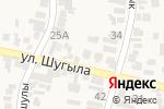 Схема проезда до компании Ару-Наз в Иргелях