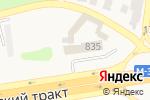 Схема проезда до компании Сhina Auto в Алматы