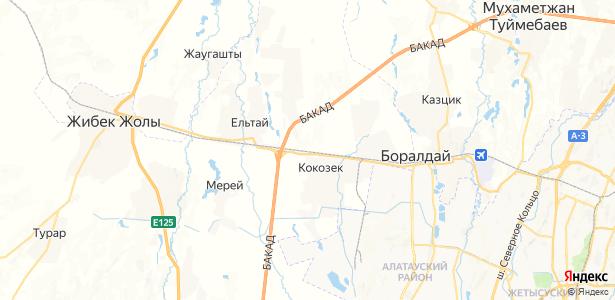 Аксенгыр на карте