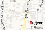 Схема проезда до компании Участковый пункт полиции №9 Карасайского района в Иргелях