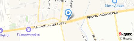 Иргели на карте Иргелей