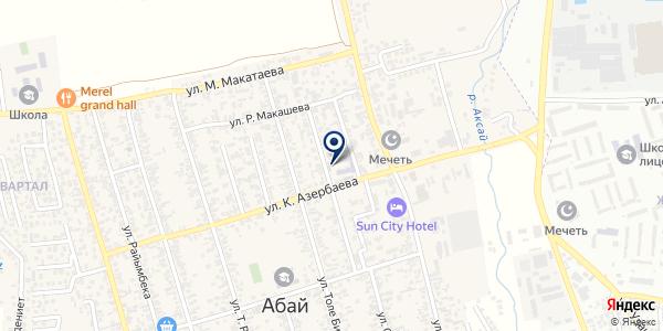 AntiGen, ТОО на карте Абае