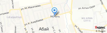 Стоматология на ул. Азербаева на карте Иргелей