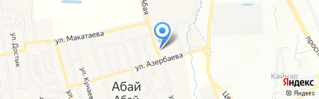 Шабдарулы Смагул–Сарсенбайулы Еркенбай на карте Иргелей