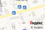 Схема проезда до компании Данна в Абае