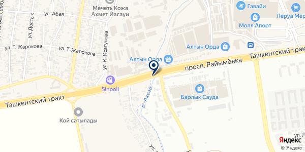 Сабыржан Company на карте Абае