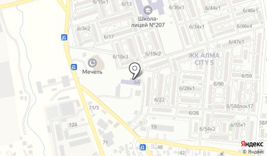 Перзент. Схема проезда в Абае