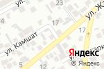 Схема проезда до компании Алдияр в Алматы