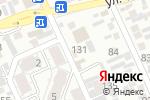 Схема проезда до компании Мандарин в Алматы