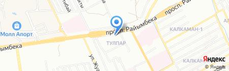 Камкор Гранд Сервис на карте Алматы