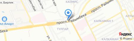 Эльмира на карте Алматы