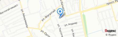 Участковый пункт полиции №13 Аксайского сельского округа Карасайского района на карте Алгабаса