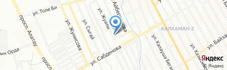 ЩИПА на карте Алматы