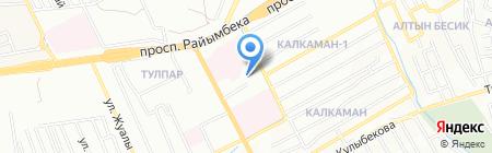 Азамат продовольственный магазин на карте Алматы