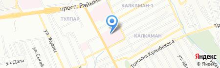 Городская клиническая больница №1 на карте Алматы