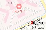 Схема проезда до компании Сервис-Дентал в Алматы