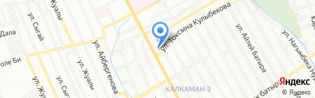 Айбек на карте Алматы