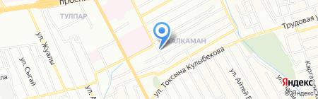 Зара на карте Алматы