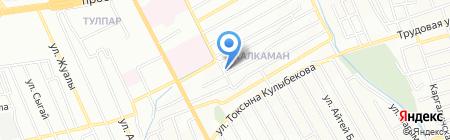 Ельдар на карте Алматы