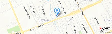 Ателье на ул. Саурык Батыра на карте Алматы