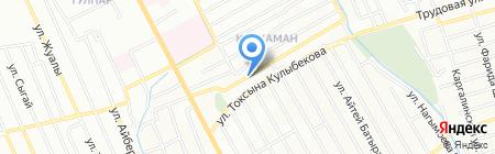 Продуктовый магазин на ул. Ер Жанибека на карте Алматы