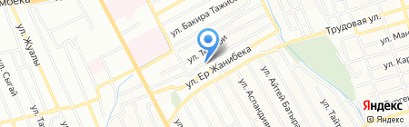 Лубенка на карте Алматы