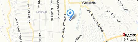 Боня на карте Алматы