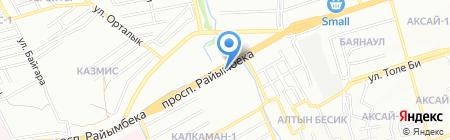 Sapa Satu на карте Алматы