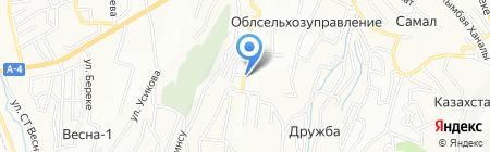 Белобородько на карте Алматы