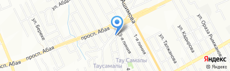 Марьям на карте Алматы