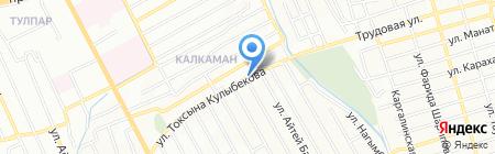 Игилик на карте Алматы
