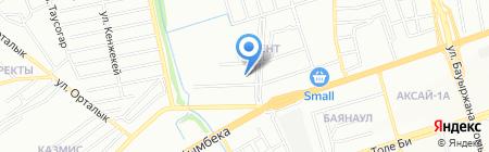 Ариза-Дент на карте Алматы